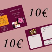 Chèque cadeau 10€