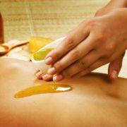 Massage huile chaude
